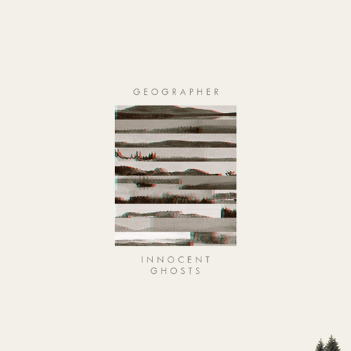 A fake album cover for the band Geographer